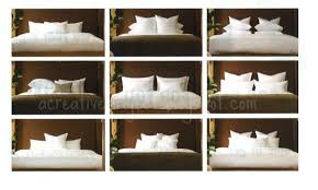 how to place throw pillows on a bed a creative project how to arrange pillows on bed