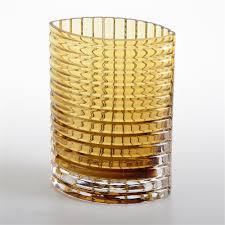 Yellow Glass Vase Antiques Atlas Alsterbro Amber Glass Vase
