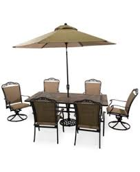 Beachmont Outdoor Patio Furniture Beachmont Outdoor 7 Dining Set 80 X 42 Top Table 4