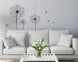 dandelion butterfly etsy