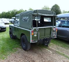 land rover rear land rover series 2 rear view nice clean and very well res u2026 flickr