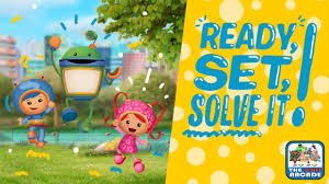 team umizoomi ready solve playing umi games