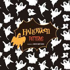 halloween ghost stencil halloween ghost silhouette pattern vector download