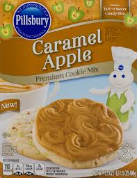 pillsbury halloween sugar cookies pillsbury premium caramel apple cookie mix with tart u0027n sweet