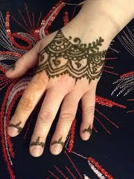 rihanna henna hand tattoo design tutorial youtube
