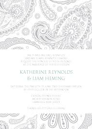 indian wedding program template indian wedding invitation