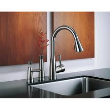 Brizo Kitchen Faucet by Brizo Faucet 63070lf Ss Venuto Brilliance Stainless Pullout Spray