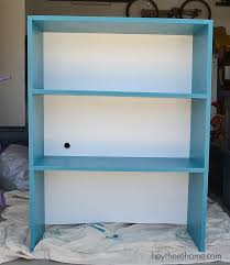 Making A Wooden Shelf Unit by Who Says A Can U0027t Diy Shelves And Make An Old Filing Cabinet