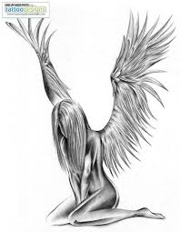 the 25 best fallen angel tattoo ideas on pinterest fallen angel