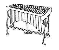 x is for xylophone coloring page xylophone coloring page