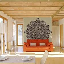 couch living room living room mural ideas contemporary living room with orange couch