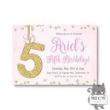 invitation wordings for 5th birthday 28 images 5th birthday