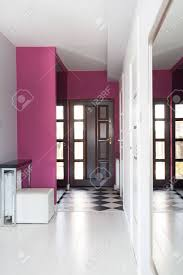modern house entrance vibrant cottage main entrance of modern house stock photo