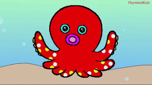 octopus for kids sea animals coloring page animal coloring