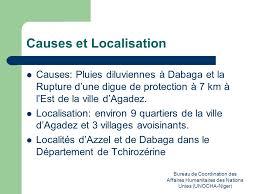 bureau de coordination des affaires humanitaires situation à agadez suite aux inondations 02 septembre 2009 bureau de