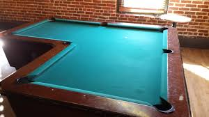 L Shape Table This Pool Table Is In A L Shape Mildlyinteresting