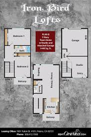 3 bedroom apartments in fresno ca iron bird lofts