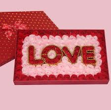 creative s day gifts square soap flower gift box s day gift