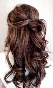Frisuren Lange Haare Halb Offen by Wunderschöne Romantische Frisur Für Eine Braut Mit Langen Haaren