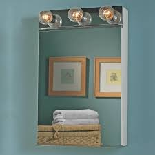 Wall Mount Medicine Cabinets by Jensen Medicine Cabinet Lighted 20w X 22 25h In Medicine Cabinet