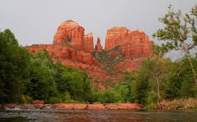 Cathedral Rock Reflections At Sunset Red Rock Crossing Hiking Up Cathedral Rock In Sedona Arizona Makes You Search For Peace