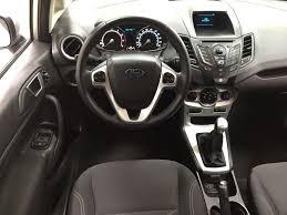 used 2015 ford fiesta se manual transmission 4 door car in
