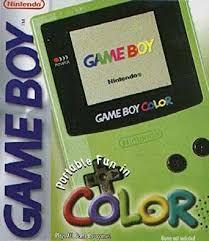 Nintendo Lime Green Console Gbc Nintendo Game Boy Color Amazon Gameboy Color