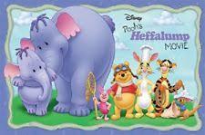 winnie pooh heffalump movie ebay