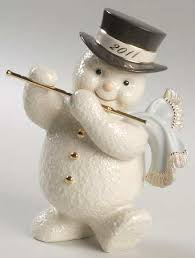 lenox annual snowman at replacements ltd