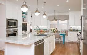 kitchen staging tips let there be more light with pendant lamps