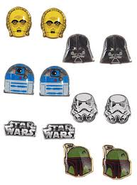 wars earrings wars stud earrings set by loungefly earrings plasticland