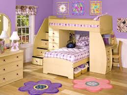 3 Kid Bunk Bed Fine Little Girls Bedroom With Bunk Beds 3 Cool Styles Just