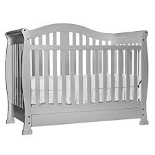 Grey Convertible Cribs On Me 5 In 1 Convertible Crib With
