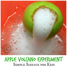volcano science for kids teaching 2 and 3 year olds