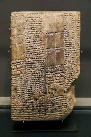 Vase Of Warka Ancient Dictionary From Warka Uruk Thought To Be One Of The