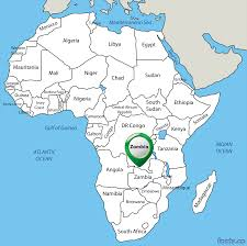 Map Of Africa Blank by Zambia Map Blank Political Zambia Map With Cities