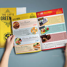 20 beautiful food menu templates for printing