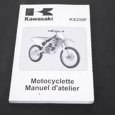 revue technique manuel atelier moto kawasaki 250 kxf 2006 99954