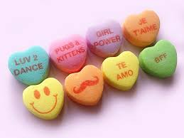 sweetheart candy sweethearts candy new conversation hearts sayings necco