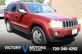 2007 jeep grand cherokee limited victory motors of colorado