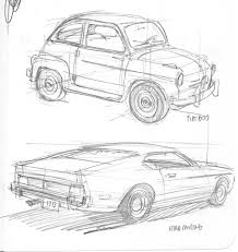 86 35 some car sketches