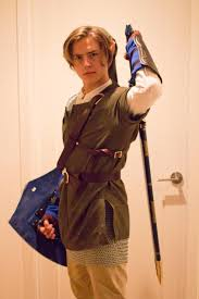 cole sprouse dresses as u0027link u0027 from legend of zelda for halloween