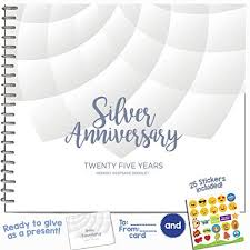25 year anniversary gift ideas 25 year wedding anniversary gifts