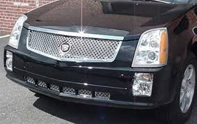 accessories for cadillac srx cadillac srx dual weave mesh grille by e g classics 2004 2005