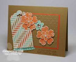 how about a spring birthday card stampin u0027 up demonstrator ann