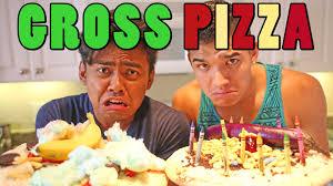 Challenge Wassabi Productions Gross Pizza