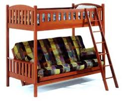Bunk Bed Twin Over Full Futon By JM Furniture - Full futon bunk bed