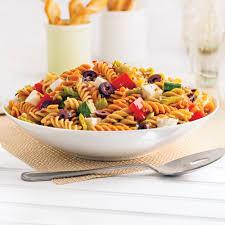 cuisine pates salade de pâtes à l italienne recettes cuisine et nutrition