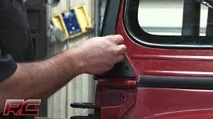 jeep light bar mount rough country u0027s jeep yj upper windshield straight light bar mounts