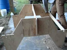 How To Make A Picnic Table Out Of 1 Sheet Of Plywood by Picnic Table Part 2 Youtube